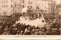 71 CHALON-sur-SAONE  Carnaval 1933 - La Stratosphère - Chalon Sur Saone