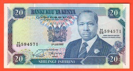 Kenya Kenia 20 Shilingi 1992 - Kenia