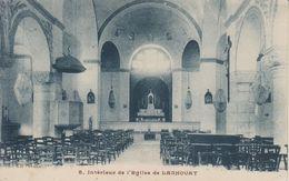 ALGERIE - LAGHOUAT - INTERIEUR DE L'EGLISE DE LAGHOUAT - Laghouat