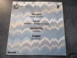 XENAKIS  -BERIO - Sonstige - Franz. Chansons