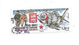 Régiment De Chasse Normandie-Niémen Oblitéré 2017 - France