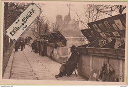 75 Paris - Cpa / Les Bouquinistes Du Quai De La Tournelle. - Le Anse Della Senna