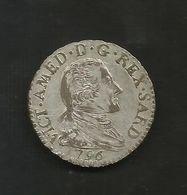 REGNO Di SARDEGNA - 10 Soldi (1796) Vittorio Amedeo III / Mistura / Z. Torino - Monete Regionali