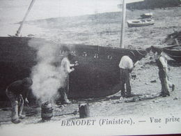 "29 - BENODET -  CALFATS - "" VUE PRISE DE LA GREVE DE SAINT EMARINE  "" - - Bénodet"
