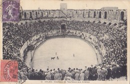 Arles - Courses De Taureaux Aux Arenes 1928 - Arles