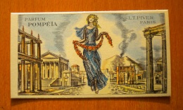 Carte Parfumée L.T. Piver, Pompéïa - Cartes Parfumées