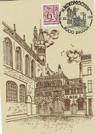 Belgique - Belgium - België -   Maximum Card/kaart - Blood Procession - Bloedprocessie Brugge/Bruges - 1981 - Christianity