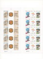 TIMBRES ANDORRE  FEUILLES COMPLETES - French Andorra