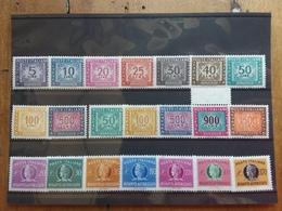 REPUBBLICA - Servizi - Segnatasse Stelle - Segnatasse IPZS + Recapito Autorizzato - Nuovi ** + Spese Postali - 6. 1946-.. Repubblica