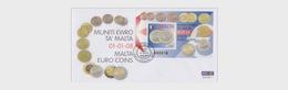 Malta 2008 First Day Cover - Malta Euro Coins - Malta