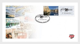Malta 2013 First Day Cover - Maltex Exhibition 2013- (Personalised Cover) - Malta