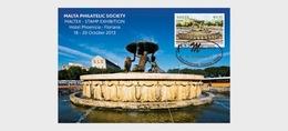 Malta 2013 Stamp & Post Cards - Maltex Exhibition 2013- (Occasion Card) - Malta