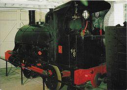 Railway Postcard Coalbrookdale Co Loco No.5 0-4-0ST Ironbridge Gorge Museum - Trains
