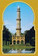 1 AK Tschechien * Das Minarett Im Schlosspark Des Schlosses Lednice Ist Ein Aussichtsturm - Gehört Mit Zum UNESCO Erbe - Tschechische Republik