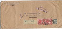 Asie Paskistan, Lettre Recommandé En 1950 Pour Paris - Pakistan