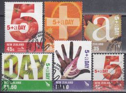 NUEVA ZELANDA 2006 Nº 2264/68 + 2269 USAD0 - Usados