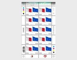 Malta 2014 Sheetlets - 10th Anniversary European Union - Malta