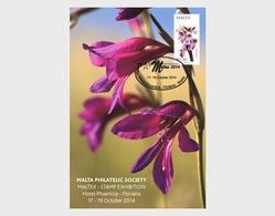 Malta 2014 Stamp & Post Cards - New Philatelic Items- Maltese Flora (Occasion Card) - Malta