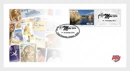Malta 2014 Collectibles - New Philatelic Items- Maltex Exhibition (Personalised Cover) - Malta