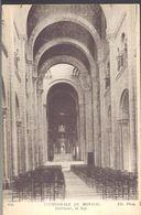 MONACO -- MONTE CARLO -- CPA --Cathédrale De Monaco - Intérieur, La Nef - Cathédrale Notre-Dame-Immaculée