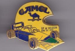 Pin's CAMEL GRAND PRIX DE BELGIQUE - F1