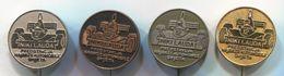FORMULA 1 - NIKI LAUDA, Car, Auto, Automotive, Vintage Pin, Badge, Abzeichen, 4 Pieces - F1