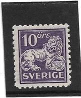 Michel 177I WB  MNH (**) Perfect Condition - Zweden