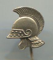 HELMET - Army, War, Military, Vintage Pin, Badge, Abzeichen - Militaria