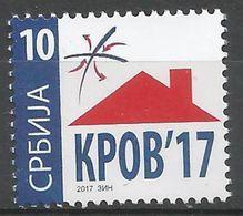 SRB 2017-ZZ REFUGEE AID, SERBIA, 1 X 1v, MNH - Serbien
