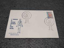 PORTUGAL ANGOLA AFRICA  FDC UNOFFICIAL 6º CONGRESSO DA SOCIEDADE ANATOMICA DA AFRICA AUSTRAL SKELETON 1974 - Médecine
