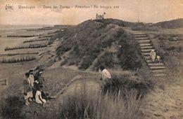 Wenduine Wenduyne - Dans Les Dunes - Attention ! Ne Bougez Plus (animée, Star, 1924) - Wenduine