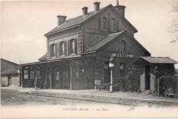 Carte Postale De La Gare De Cassel ( Nord ) - Gares - Sans Trains