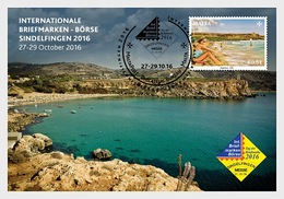 Malta 2016 Stamp & Post Cards - Occasion Card No 44 - Sindelfingen 2016 - Malta