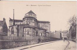 CPA - 106. NEVERS église St étienne - Nevers