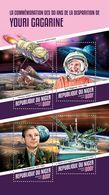 Niger. 2018  50th Memorial Anniversary Of Yuri Gagarin. (110a) - Space