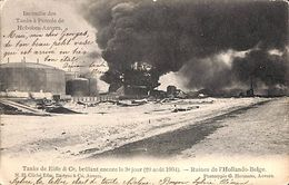 Anvers -Tanks De Eiffe & Cie - Incendie Des Tanks De Pétrole Hoboken-Anvers 1904 - Antwerpen