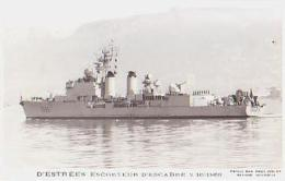 Escorteur        217        Escorteur D'escadre D'ESTREES - Guerra