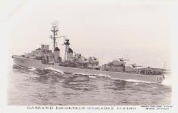 Escorteur        236        Escorteur D'escadre CASSARD - Warships