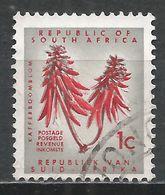 South Africa 1963. Scott #289 (U) Coral Tree Flower * - Afrique Du Sud (1961-...)