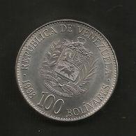 VENEZUELA - 100 BOLIVARES ( 1998 ) - Venezuela