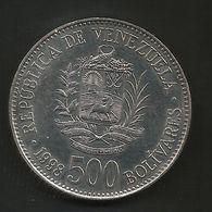 VENEZUELA - 500 BOLIVARES ( 1998 ) - Venezuela