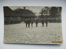 RARE! 1919 LATVIA VALMIERA  PARADE OF ESTONIAN TROOPS AFTER LIBERATION OF WOLMAR , FIELDPOST , 0 - Latvia