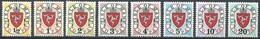 Île De Man  Millésime 1973 Yvertnr. Timbres-taxe 1-8 *** MNH Cote 60 Euro - Man (Ile De)