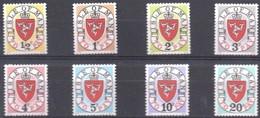 Île De Man  Millésime 1973 A Yvertnr. Timbres-taxe 9-16 *** MNH Cote 9,50 Euro - Man (Ile De)