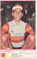 Cyclisme , F Bahamontes , Palmarès, Photo Miroir Sprint - Radsport