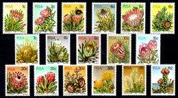 AFRIQUE DU SUD. N°416-32 De 1977. Plantes Grasses. - Sukkulenten