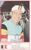 Cyclisme , J Adriaenssens, Palmarès, Photo Miroir Sprint - Radsport