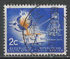 South Africa 1972. Scott #376 (U) Pouring Gold * - Afrique Du Sud (1961-...)