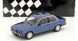 BMW 323I E30 1982 BLUE METALLIC MINICHAMPS 155026002 1/18 BLAU METAL BLUE - Minichamps