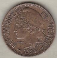 Togo Territoires Sous Mandat De La France. 1 Francs 1924. Bronze Aluminium. KM# 2 - Togo